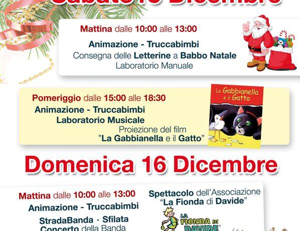 15-16 DICEMBRE MERCATINO DI NATALE