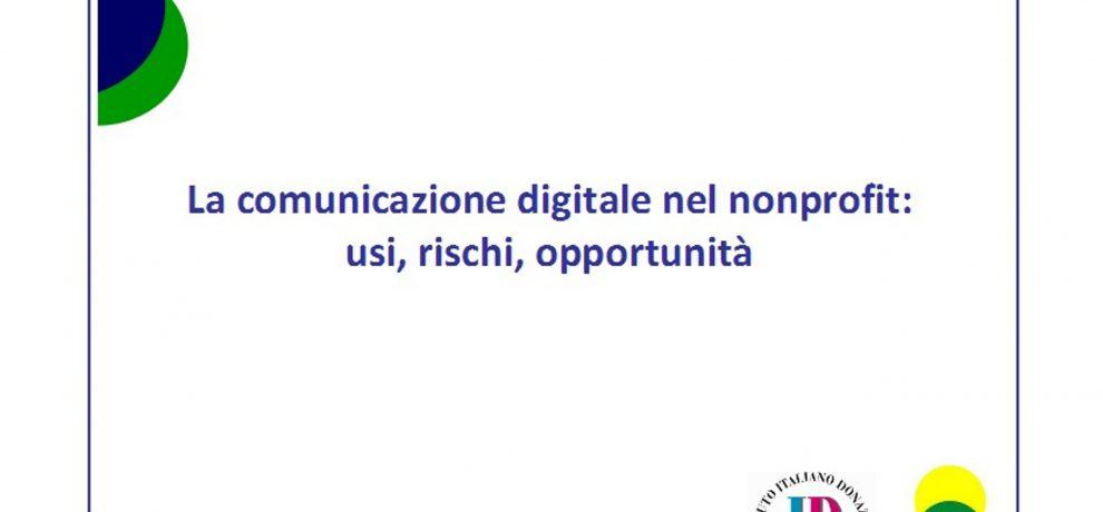 Social network: il non profit li usa per comunicare ma non per raccogliere fondi