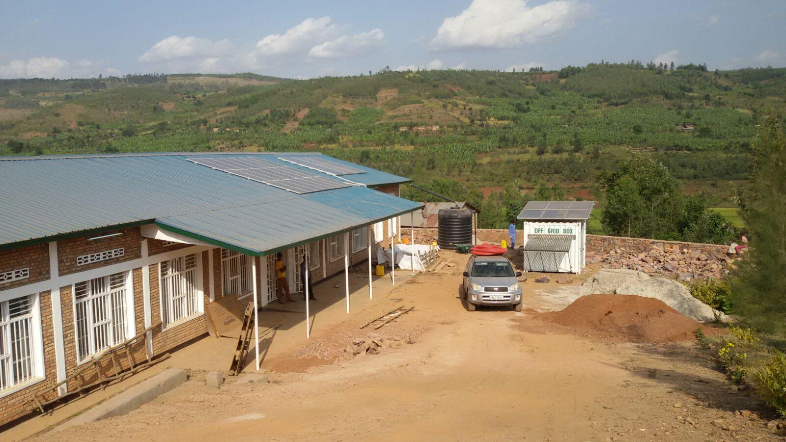 Luce e acqua a Kibaya - Progetto Rwanda > La Gabbianella Onlus