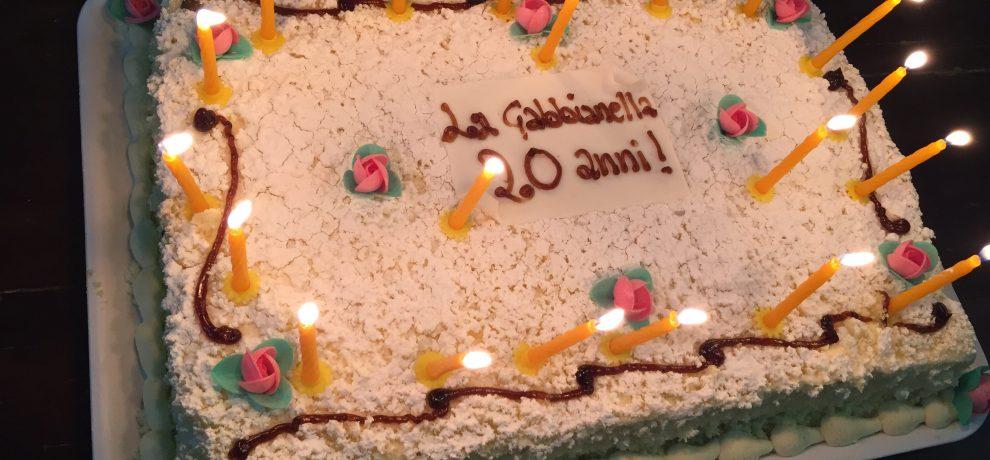 2 dicembre 2017 – La Gabbianella ha compiuto 20 anni
