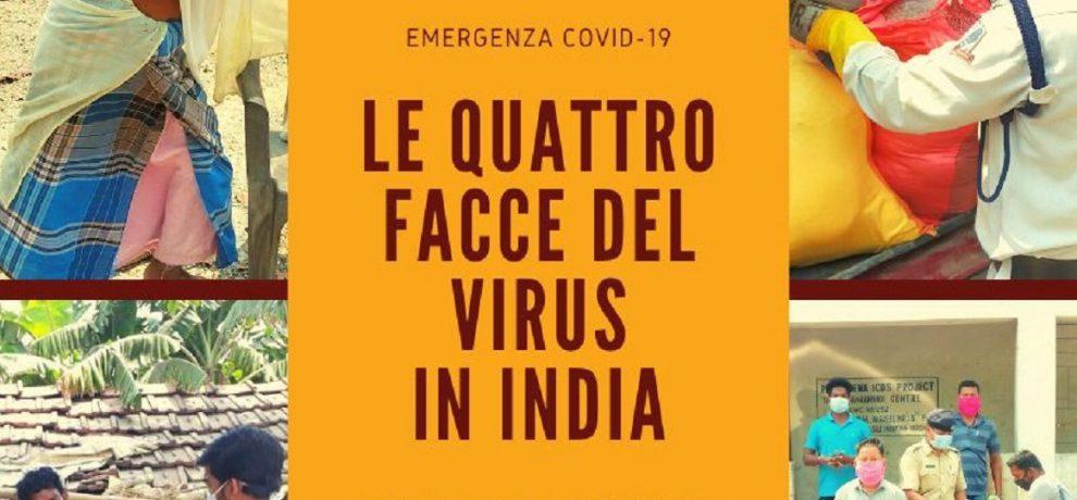 Cini, le quattro facce del virus in India